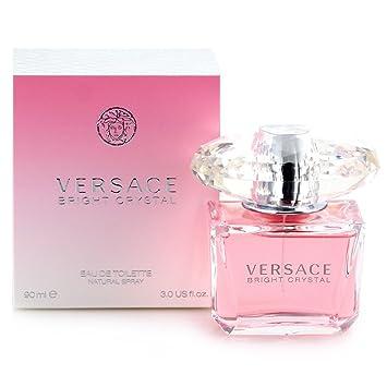 0bb62773 Versace Bright Crystal Eau De Toilette Spray for Women 3.0 Ounce