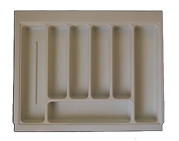 Alta calidad bandeja de cajón para cubiertos crema/marfil para adaptarse a la mayoría de
