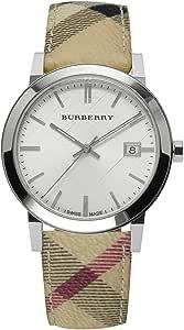Burberry BU9025Watch–For Women, Leather Strap