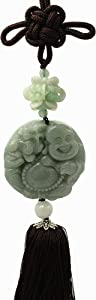 Betterdecor Feng Shui Chinese Wealth Money Buddha Charm Hanging (with a Pouch)