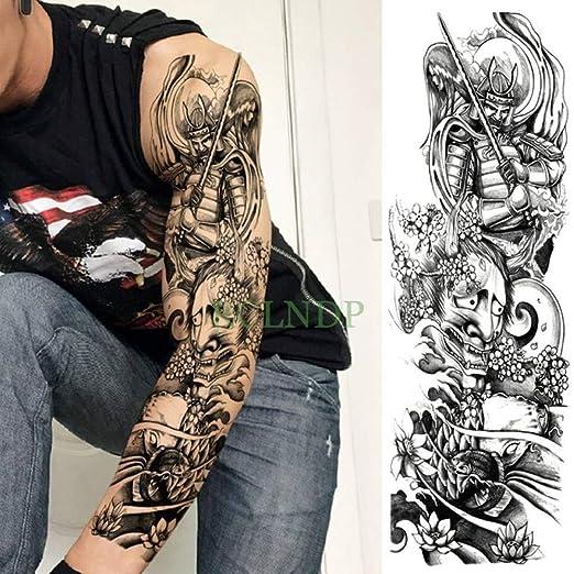 Handaxian Etiqueta engomada del Tatuaje a Prueba de Agua Flor ...