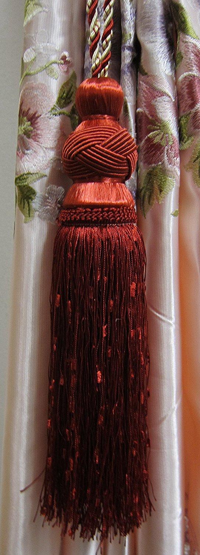 Airdodo美しいタッセルカーテン留め飾りウィンドウホーム装飾のカーテン 1pc 新発売 期間限定特別価格 B01E4E872K
