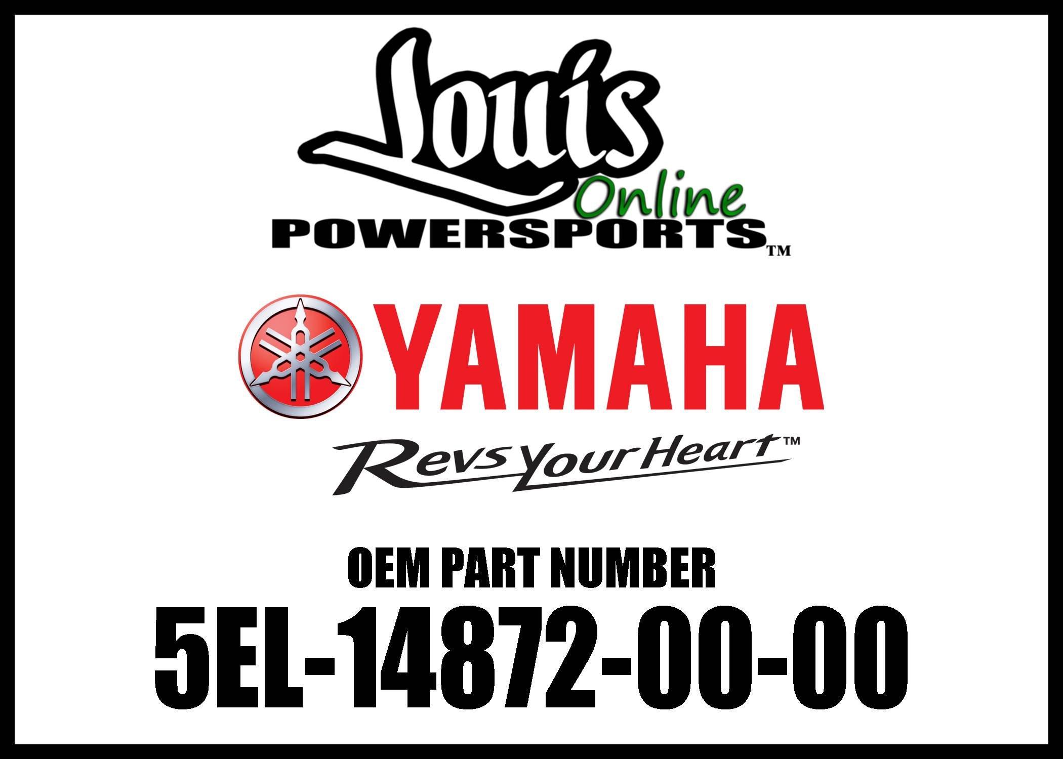 Yamaha 5EL148720000 Exhaust Pipe