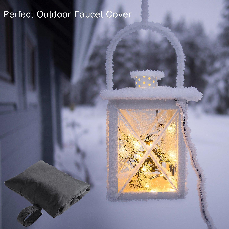Amazon.com : DoitY Faucet Cover Freeze Protection, Outdoor Faucet ...