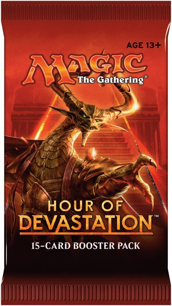 Magic The Gathering 15088-s Ora di Devastazione di Booster Pack