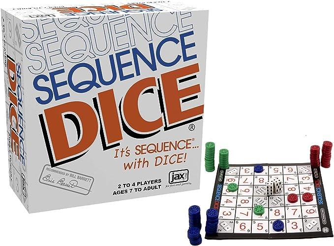 Dados de Secuencia: Un emocionante Juego de Estrategia: Amazon.es: Juguetes y juegos
