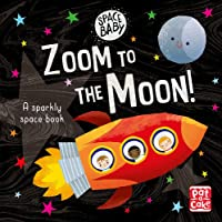 Space Baby: Zoom to the Moon!: A first shiny space adventure touch-and-feel board book