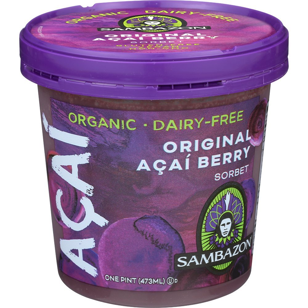 Sambazon acai berry sorbet. Do visit these 23 Smart Quarantine Pantry Supplies for Social Isolation I Ordered. #quarantinesupplies #pantryitems #nonperishables