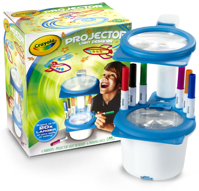 Crayola Projector Light Designer Toys Games