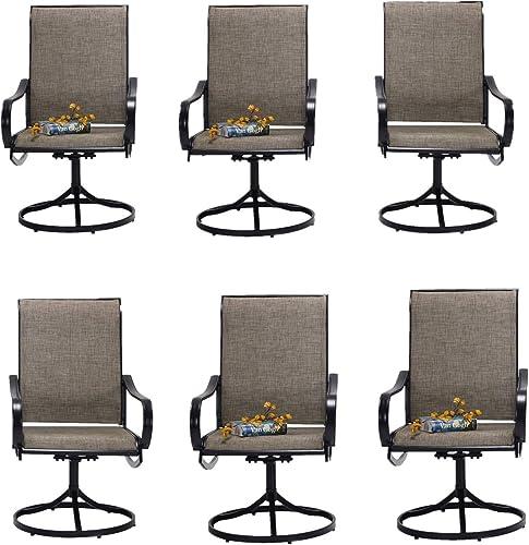 Patio Dining Swivel Chair