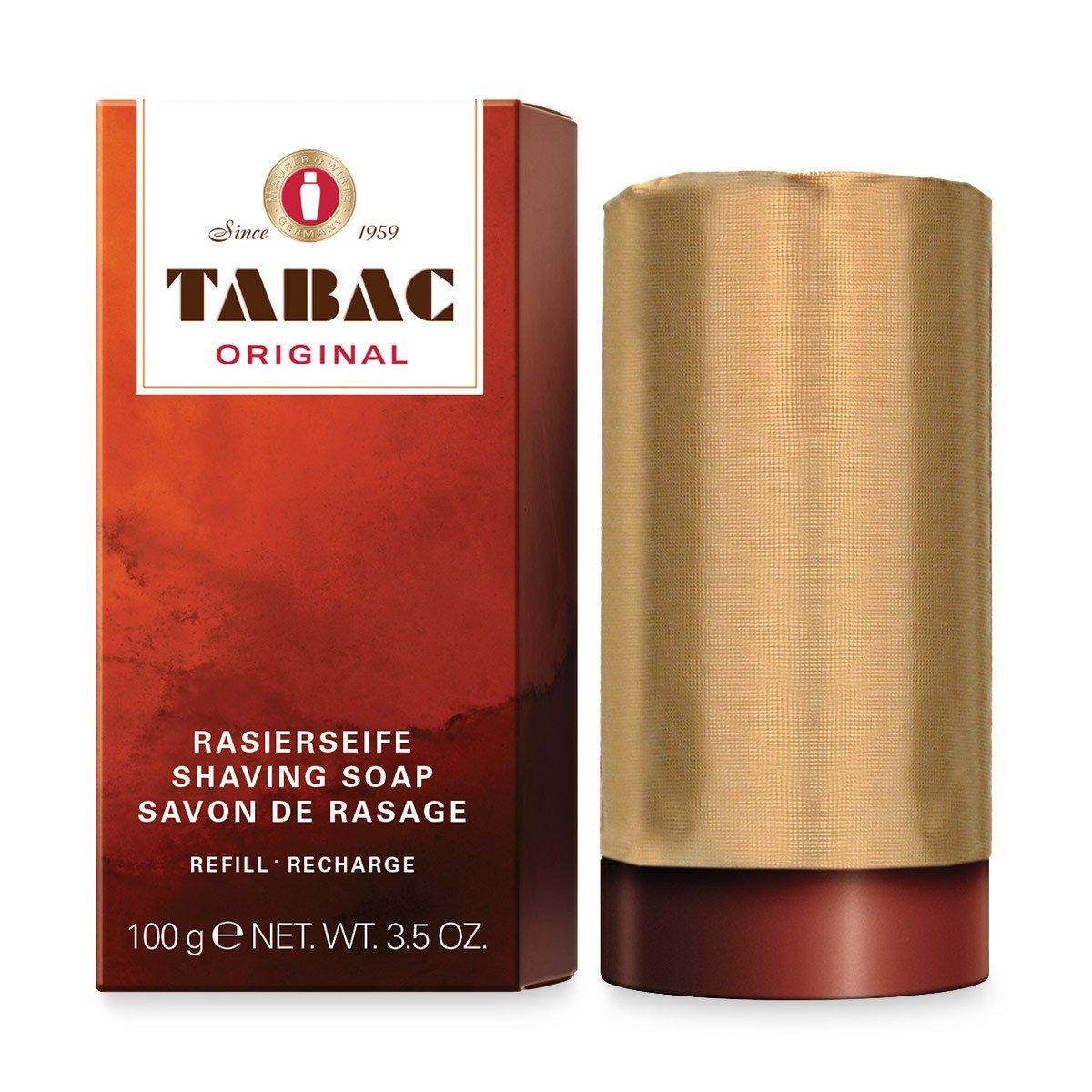 Barra de jabón para afeitado Tabac Original, 100g Maurer &Wirtz MW436002