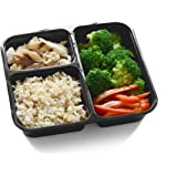 Prep and Plan Heavy Duty 10-Pack Extra Durable Meal Prep Container, BPA free, FDA Certified Food Grade, Bento Box, Lunch Box, Reusable Food Container