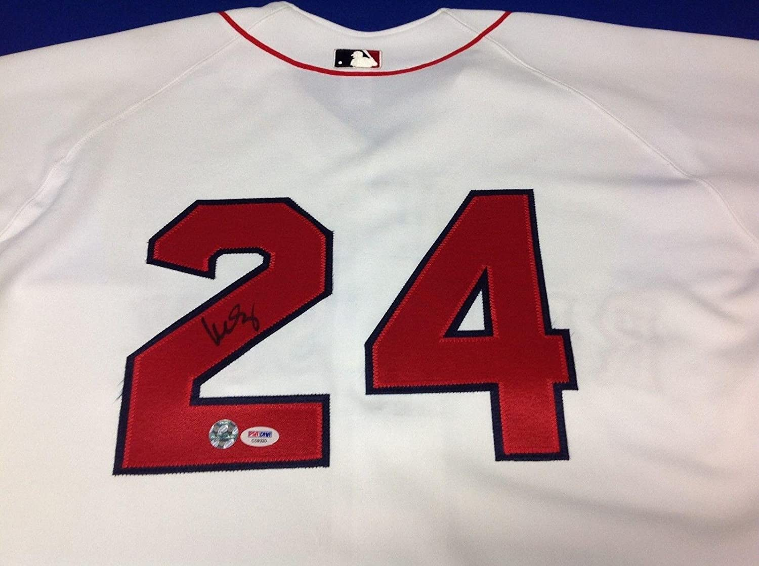 00f55215e Amazon.com  Signed Manny Ramirez Jersey - PSA DNA COA   C09320 -  Autographed MLB Jerseys  Sports Collectibles