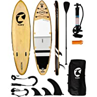 """TUSY Inflatable Paddle Board Inflatable SUP 10'6""""×33""""×6"""" Ultra-Light Inflatable Paddle Boards, Non-Slip Deck Pad, with…"""