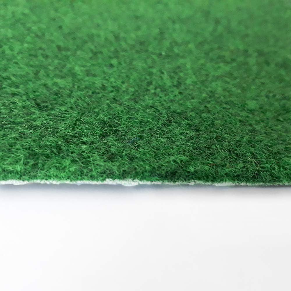H/öhe ca Meterware 133 Gr/ö/ße: 10 x 4 m beige hell-braun verschiedene Gr/ö/ßen Kunstrasen Rasenteppich mit Noppen 7,5mm 200 und 400 cm Breite
