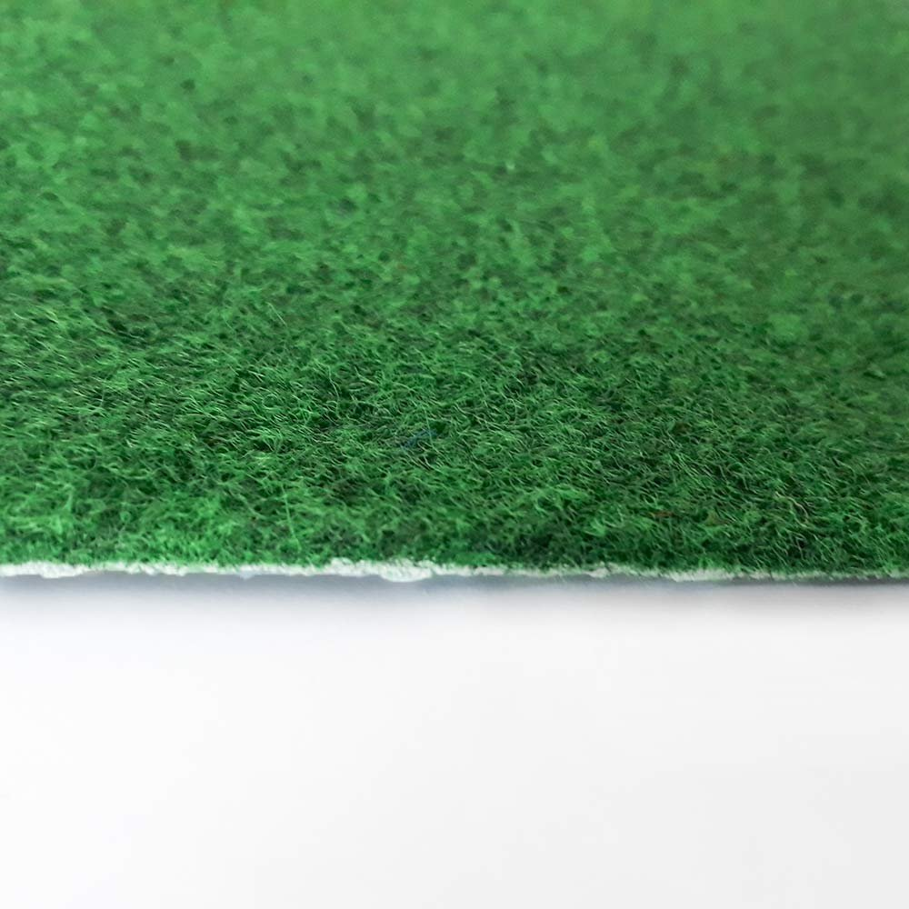 Gr/ö/ße:1.50x2.00 m L/änge variabel Meterware livingfloor/® Kunstrasen Vliesrasen Croma mit Noppen Gr/ün in 2m Breite