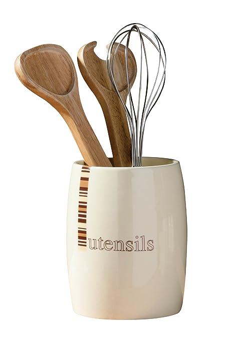 Premier Housewares - Bote para utensilios de cocina (utensilios ...