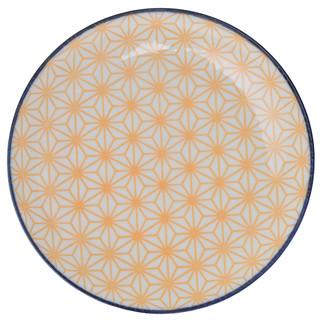 Tokyo Design Studio Starwave Side Plate - Star - Yellow/Blue at Amara