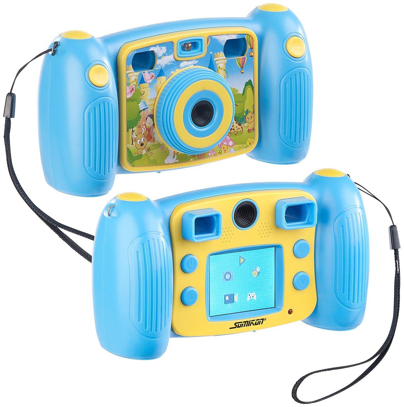 SOMIKON Appareil Photo numérique Full HD pour Enfants DV-25 - Bleu