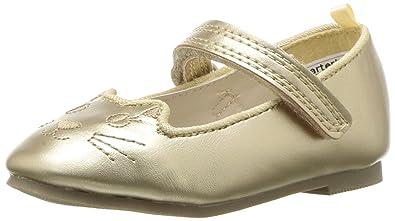 cd2fd5313 Amazon.com | Carter's Kids Caryn Girl's Kitten Flat Ballet | Flats