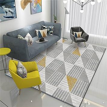 Amazon.de: YFF Teppiche Nordic Style Modern Minimalistische Kunst Teppich  Wohnzimmer/Schlafzimmer /