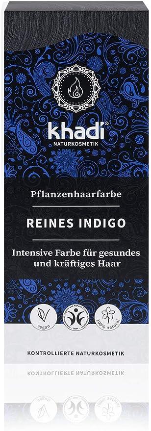 Khadi Indigo Puro, 100g, Pack de 1