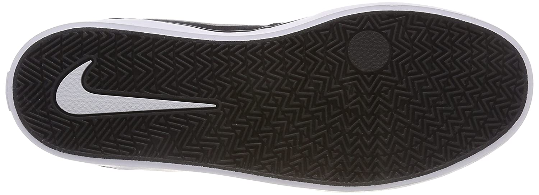 NIKE Men's SB Check Solarsoft Canvas Skateboarding Shoe B0178Q78G2 8 D(M) US Black/White