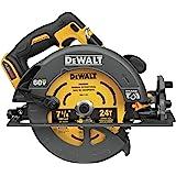 DEWALT FLEXVOLT 60V MAX Circular Saw with Brake, 7-1/4-Inch, Tool Only (DCS578B)