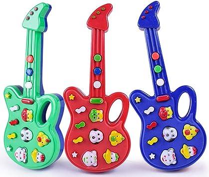 Guitarra Musical juguetes, a 1 PC Niños Mini Animal puede tocar ...