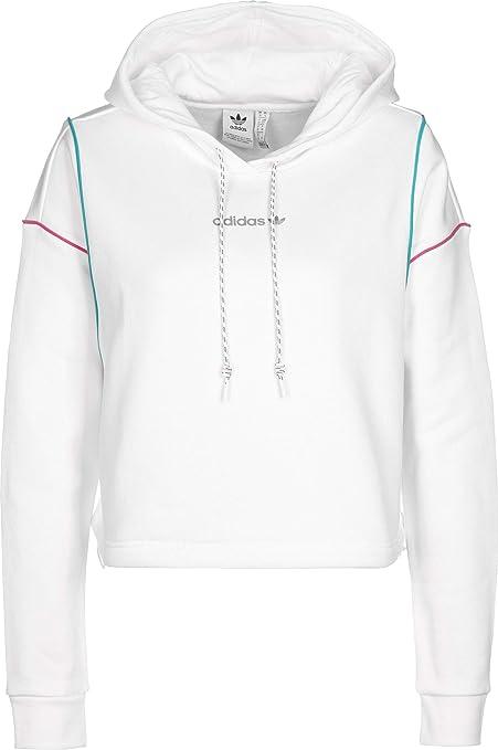 Sweat à Capuche Femme Adidas Crop: : Sports et Loisirs