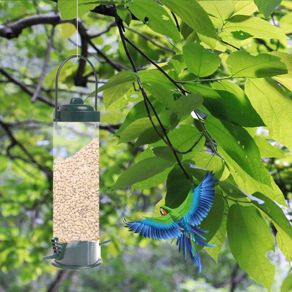 Purplert Hanging Automatic Bird Feeding Tool,Wild Bird Feeder For Outdoor