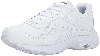782f88862e1 Reebok Men's Walk Ultra V DMX MAX 2E Shoe, White/Flat Grey-Wide e, 6 ...
