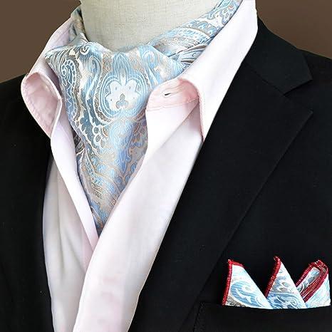 scarpe sportive 336d8 ac36e LIANGJUN Cravatta Seta Cravatta Sciarpa Elegent Uomini ...
