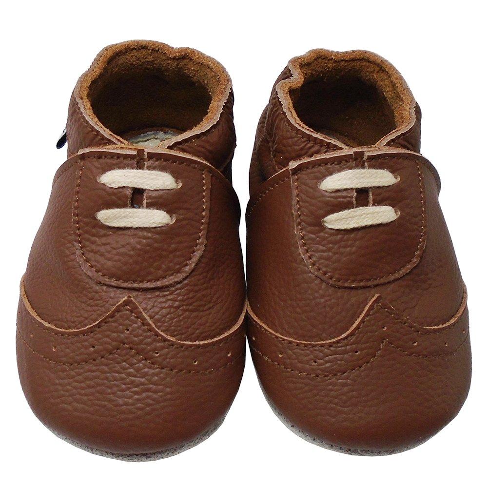 bc398782e8b43 Amazon.com | Mejale Baby Premium Soft Sole Leather Moccasins Infants ...