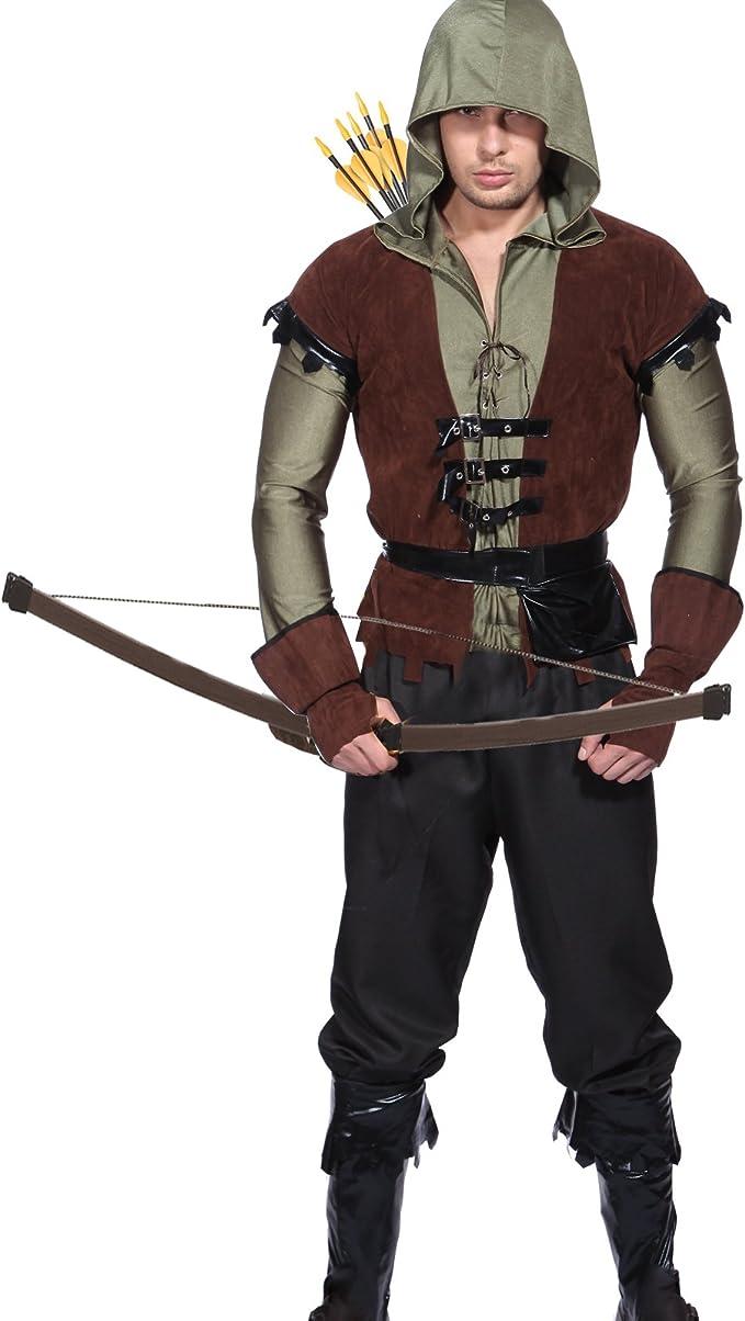 Maboobie - Disfraz para adultos, diseño de RObin Hood arquero ...
