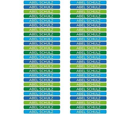50 Etiquetas Adhesivas Minis Personalizadas para marcar objetos ...
