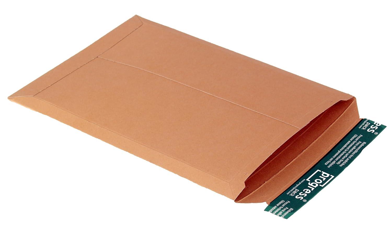 progresspack PP v04.04 in cartone, DIN A4 +, 237 X 342 X fino a 30 mm, Confezione da 25, colore: marrone DIN A4+ 237X 342X fino a 30mm progress packaging GmbH