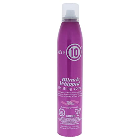 It s a 10 Haircare Miracle Whipped Finishing Spray, 10 fl. oz.