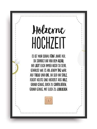 Holzerne Hochzeit Geschenke