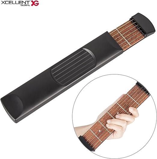 Xcellent Global portátil bolsillo báscula de acordes de guitarra ...