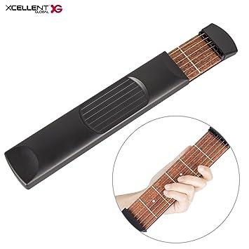 Xcellent Global Portable Pocket Guitar Chords Scales Fingers Practice