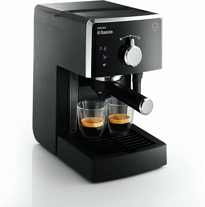 Saeco Manuelle Poemia Focus- Cafetera espresso manual, color negro ...