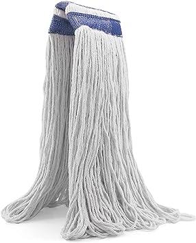 Repuesto de cabeza de fregona de algodón de 24 onzas, para uso ...