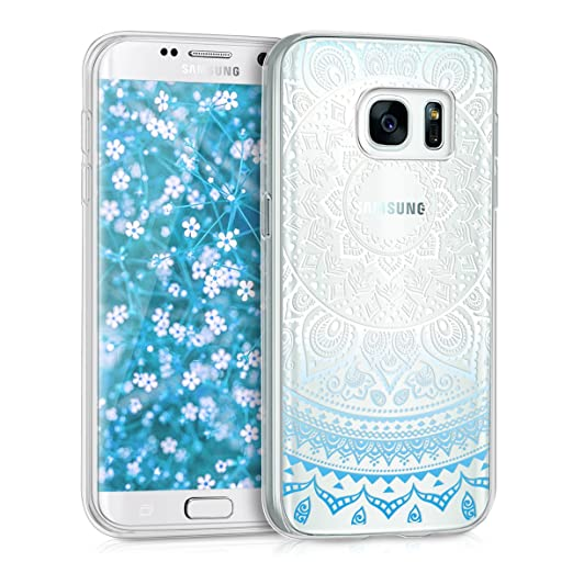 10 opinioni per kwmobile Cover per Samsung Galaxy S7- Custodia in silicone TPU- Back case