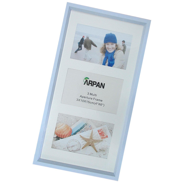 Amazon.de: Arpan, Mehrfach-Bilderrahmen, für 3, 5 oder 6 Bilder 3 ...