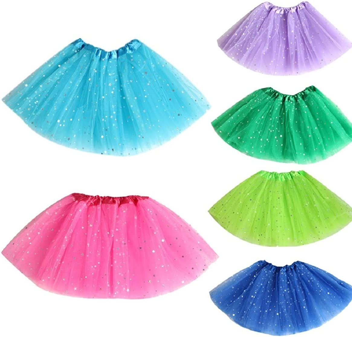 Coerni Premium Cotton Baby Girl Glitter Tutu Skirt