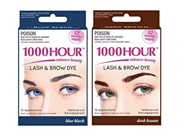 Permascara Lash & Brow Dye Kit (Dark Brown)