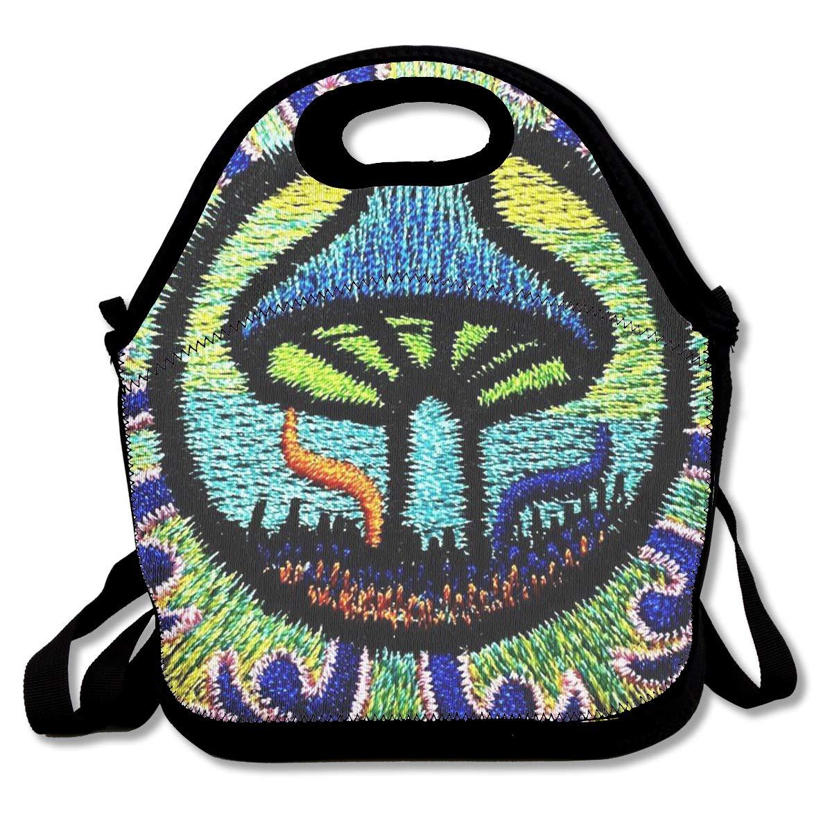 af3cb25aabe9 Amazon.com: Pilsyv8s5 Mandala Magic Mushroom Goa Psychedelic Lunch ...