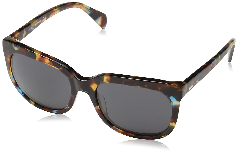 faf0da12fee1 Amazon.com  Diesel Eyewear Womens Square Sunglasses (Tortoise)  Shoes
