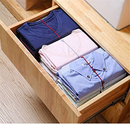 Organizador de armario, carpeta para camisa, organizador de ...